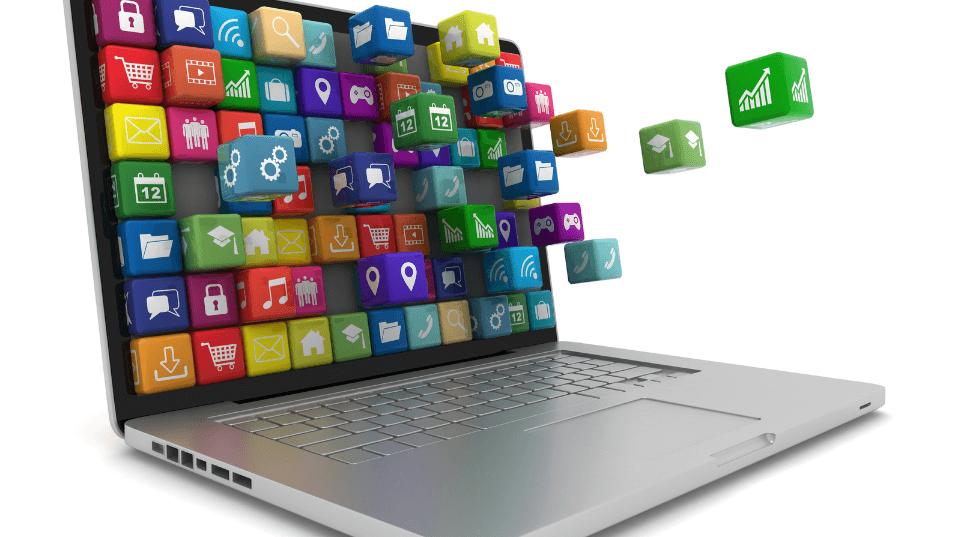 erp-system-laptop
